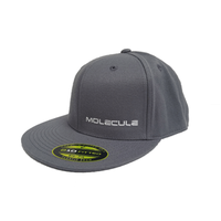Molecule Flex-Fit Hat (Grey)